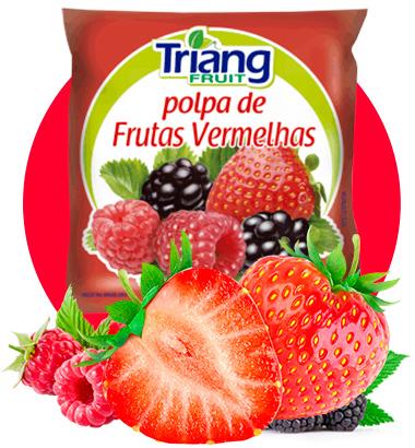 Polpa de Fruta de Frutas Vermelhas