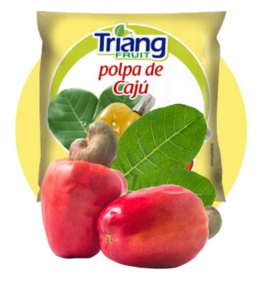 Polpa de Fruta de Cajú