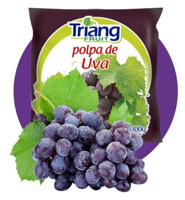 Polpa de Fruta de Uva