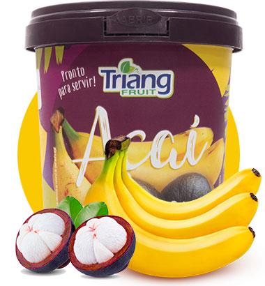 Açaí com Banana 500g