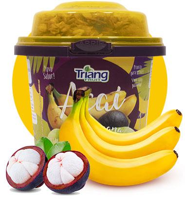 Açaí com Banana 225g
