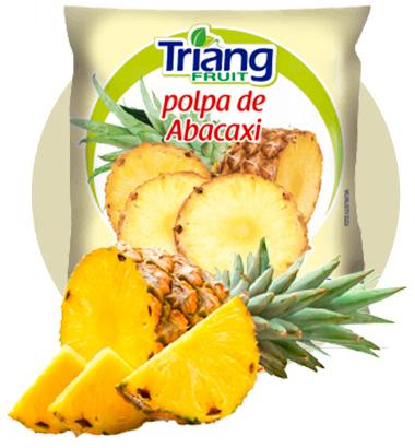 Polpa de Fruta de Abacaxi