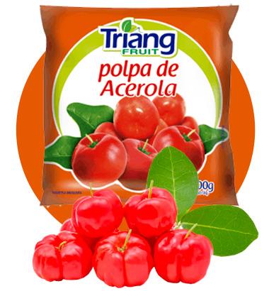 Polpa de Fruta de Acerola