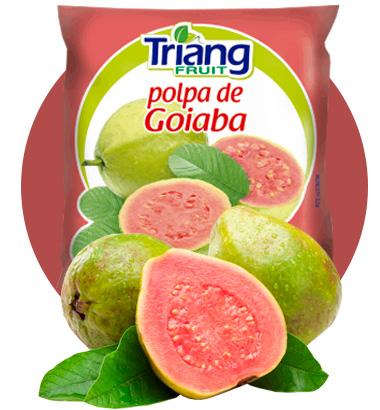 Polpa de Fruta de Goiaba