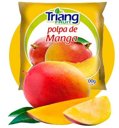 Polpa de Fruta de Manga
