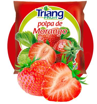 Polpa de Fruta de Morango