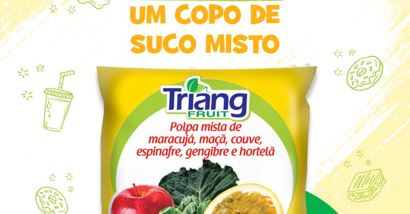 Uma combinação de frutas que resulta em muito sabor e nutrição